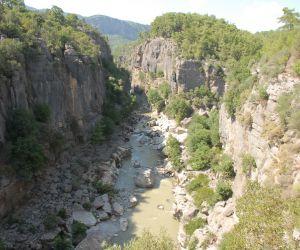 Antalya, Manavgat (Beşkonak) - Köprülü Kanyon'da Rafting